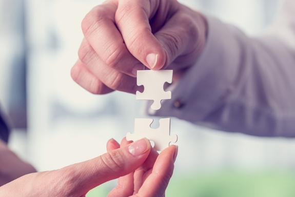 IT, Strategie, IT-Strategie, Puzzleteile werden zusammengefügt