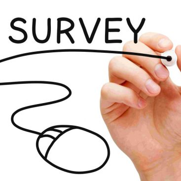 Survey, Umfrage, Mystery Shopping Automobilbranche, Maus in Hand